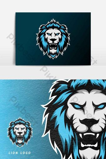 Angry Lion Jaguar Mascot Sport Esport Logo Template Vector Graphic Element Png Images Ai Free Download Pikbest In 2020 Logo Templates Graphic Art Brochures