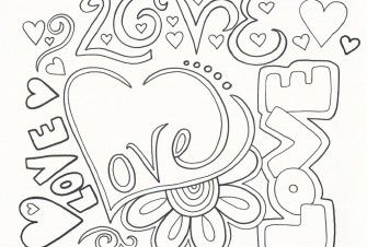50th Anniversary Coloring Pages Love Coloring Pages Valentine