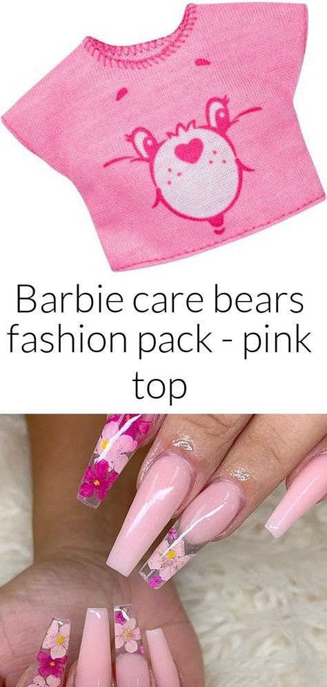 Barbie care bears fashion pack - pink top