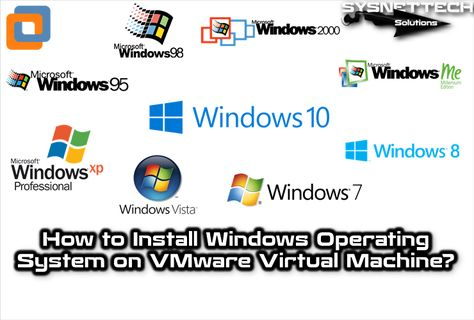 Install Windows Operating System on VMware | VMware