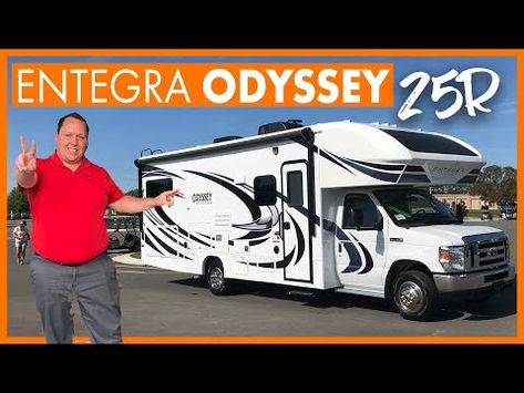 A Custom Ordered Class C 25ft With Outside Kitchen Youtube In