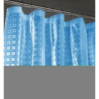 Sqaure 3d Shower Curtain Liner Pink Dainty Home Vinyl Shower