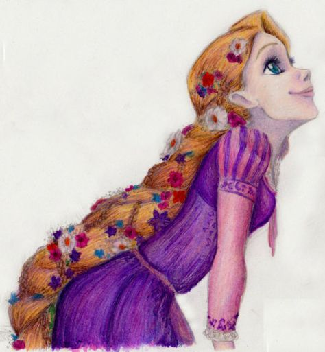 Tangled Fan Art--- i think this is really cute ^-^