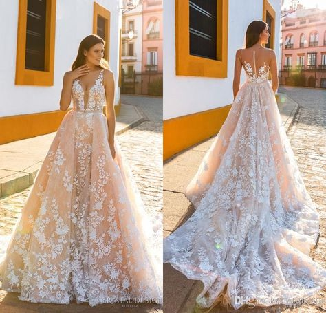 Beautiful Wedding Dresses From The 2017 Crystal Design Collection Sevilla Bridal Campaign