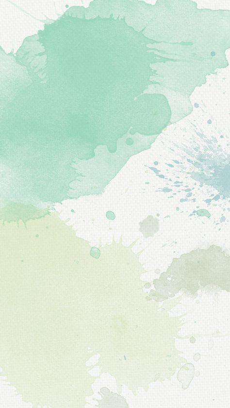 Green paint splatter abstract iPhone wallpaper