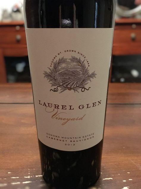 Laurel Glen Vineyard 2013 Cabernet Sauvignon Cabernet Cabernet Sauvignon Wine Reviews