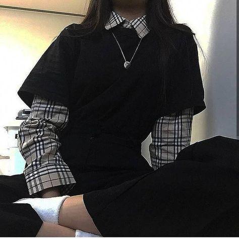 I Love these korean street fashion Korean Fashion Fashion. - I Love these korean street fashion Korean Fashion Fashion Korean koreanstreetfashion love street Source by duzduroke - Style Outfits, Edgy Outfits, Cute Casual Outfits, Korean Outfits, Mode Outfits, Retro Outfits, Grunge Outfits, Girl Outfits, Fashion Outfits