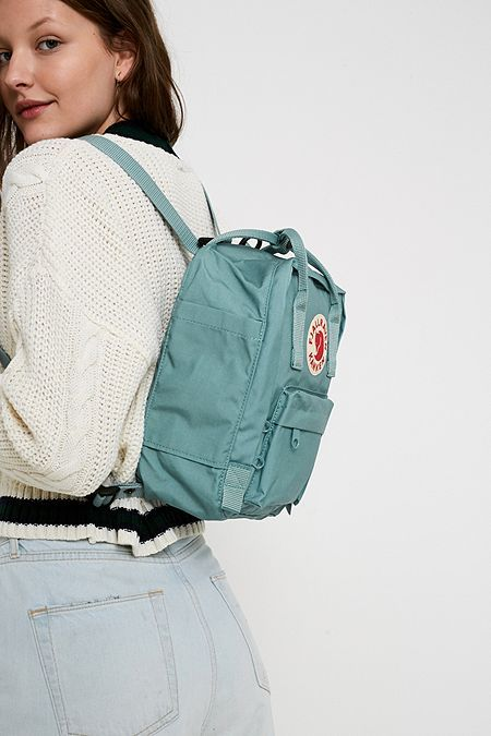 Shop Fjallraven Kanken Sky Blue Mini Backpack at Urban Outfitters today.