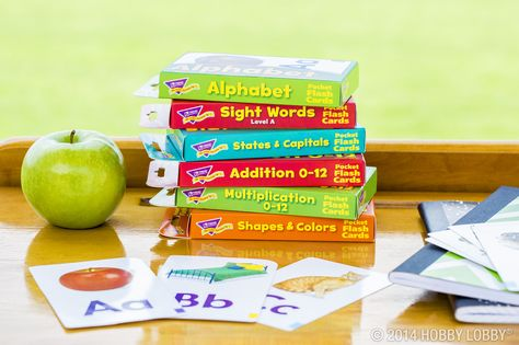From their ABCs to their 123s, kids will have fun learning the basics with our pocket flash cards!