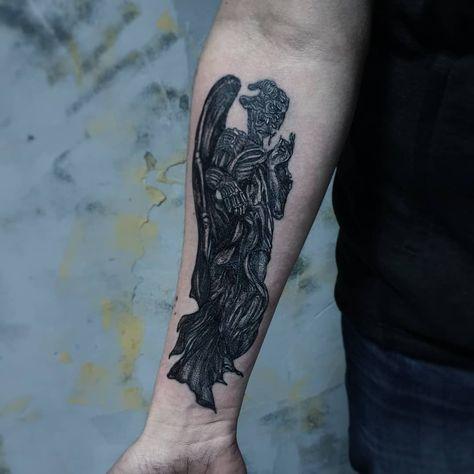 Nicht / tot ... es ist Wasserspeier⚫ #live_in_black #live_in_black_tattoostudio #garg ... -  Nicht / tot … es ist Wasserspeier #live_in_black #live_in_black_tattoostudio #garg… – Nicht / - #beautifultattoos #black #garg #Gargoyletattoo #ist #liveinblack #liveinblacktattoostudio #meaningfultattoos #nicht #tattooformenonleg #tattoostudio #tot #wasserspeier