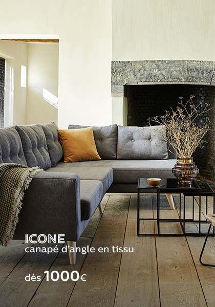 Canape Votre Meilleur Choix De Canapes De Salon Alinea Canape Angle Convertible Canape Angle Decoration Maison