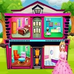 لعبة بيت الدمية التصميم والديكور My Doll House Design And Decoration My Doll House Baby Doll House Doll House