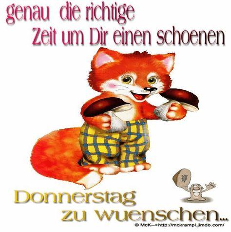 Photo of guten morgen donnerstag lustig