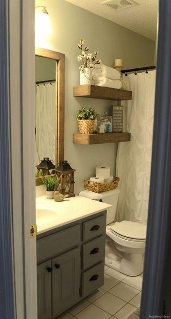 050 Rental Apartment Decorating Ideas Small Bathroom Makeover Restroom Remodel Bathrooms Remodel