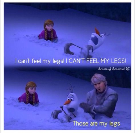 Kristoff & Olaf. I laughed a little too much at this part haha