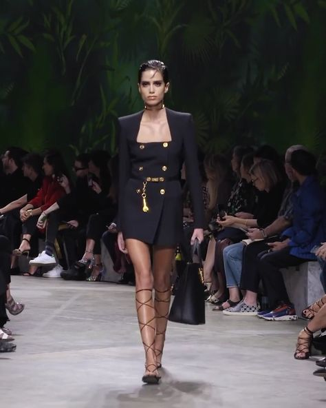 Versace Look 3. Spring Summer Women's 2020 Collection