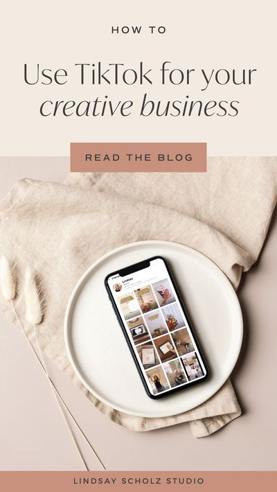 How To Use Tiktok For Business In 2020 Lindsay Scholz Studio Creative Studio For Woman Owned Businesses Marketing Strategy Social Media Business Creative Business