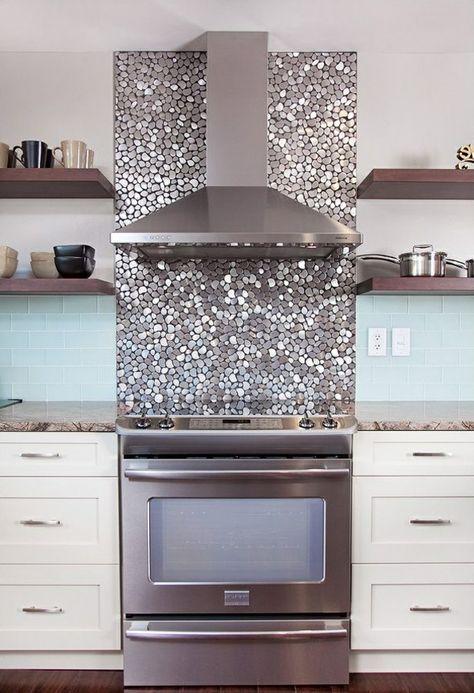 15 best wandgestaltungen images on Pinterest Deko, Accent wall - küchenspiegel aus holz