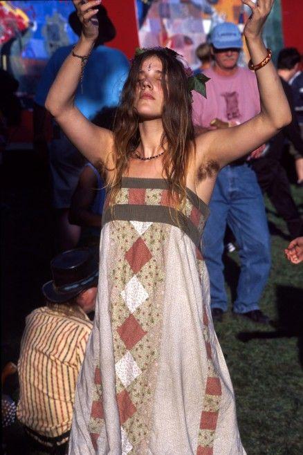 Hairy Hippie Women