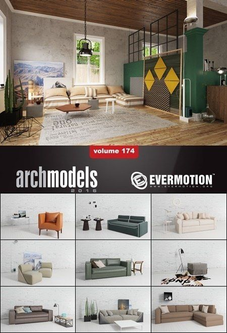 Evermotion Archmodels vol 174 | Daz Poser | Model