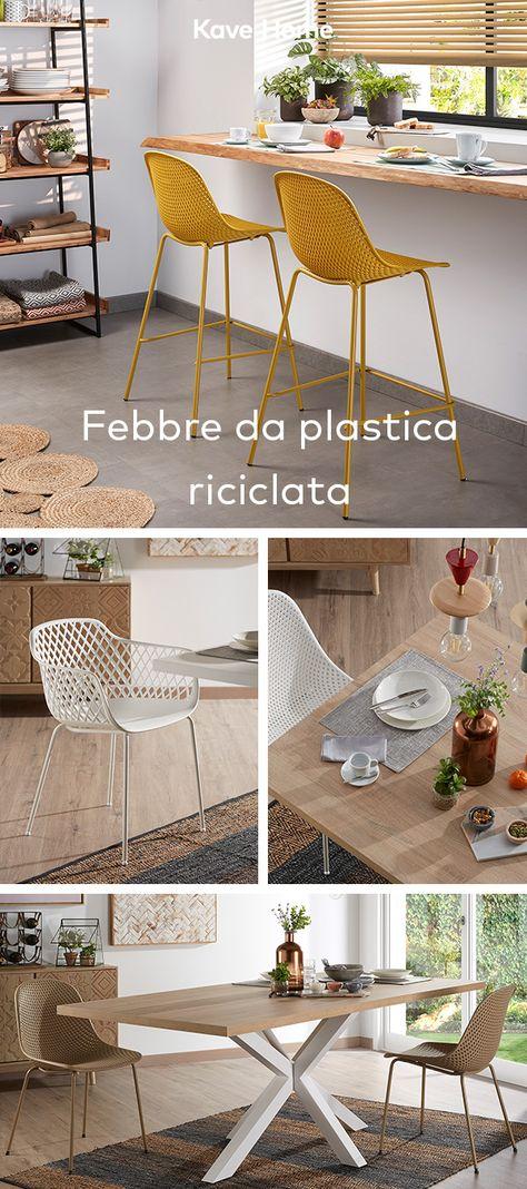 Sedia Da Cucina Plastica.Queste Sedie E Sgabelli Sono La Versione Attuale Di Pezzi Classici