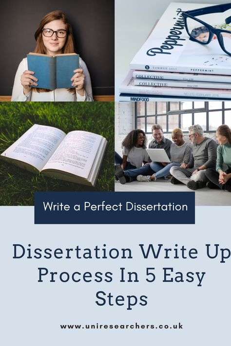 Dissertation Write Up Process In 5 Easy Steps