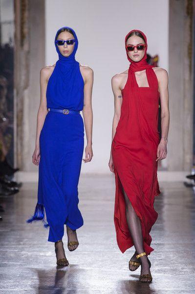 Versace At Milan Fashion Week Fall 2018 - The Most Beautiful Runway Dresses From Milan Fashion Week Fall 2018 - Photos