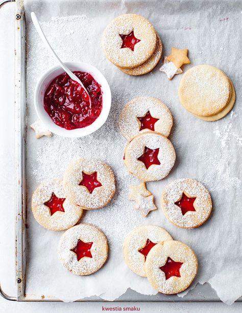 Weihnachtskekse Mit Marmeladenfüllung.Pinterest Deutschland