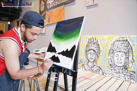 The Art Bar aims to inspire new artists