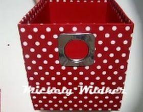 Como Cobrir Caixa De Papelao Com Tecido Cobrindo Caixas Caixa