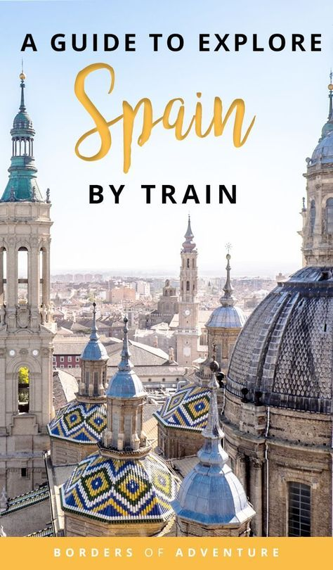Do you want to explore Spain but don't know how to do it? Then click here to read this complete guide on how to travel in Spain by train: AVE Guide to a City-Hopping Rail Adventure | Madrid, Tarrragona, Zaragoza, Seville | Things to do, where to stay + practical tips to plan your adventure to discover Spain by train | Travel in Spain | Hotels in Spain | Spain by train | Renfe Spain Train Pass | Spain Train Route #traintravel #travel #spain #traveldestinations