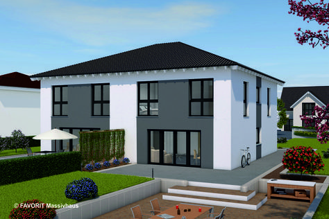 Favorit Massivhaus favorit massivhaus fertig haus bungalow