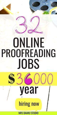 33+ online proofreading jobs for beginners: Make money online TODAY!