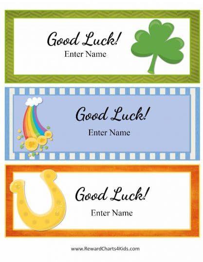 Free Printable Good Luck Cards Good Luck Cards New Job Card Kids Cards