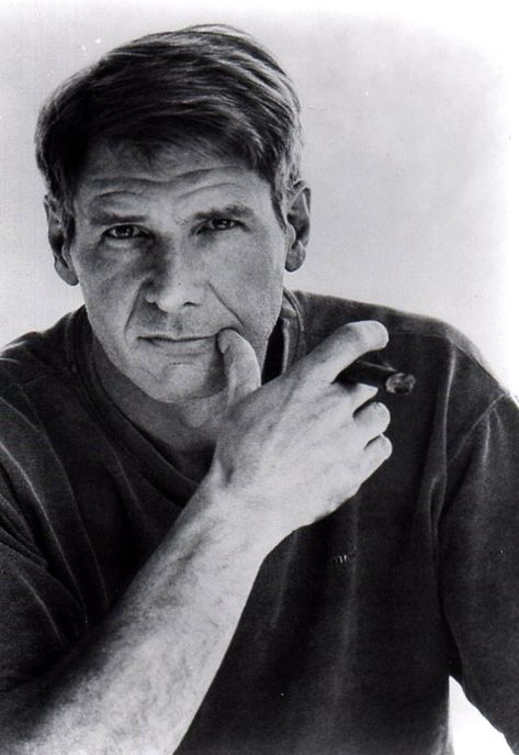 Harrison Ford. Maybe, just maybe, I can still pull this off.