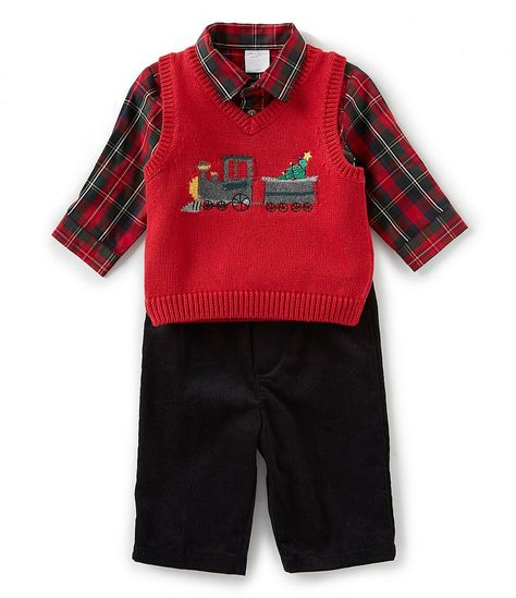 cde54317c Starting Out Baby Boys 3-24 Months Train Sweater