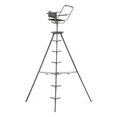 Guide Gear 12 Tripod Deer Stand Tripod Deer Stand Deer Stand Hunting Stands