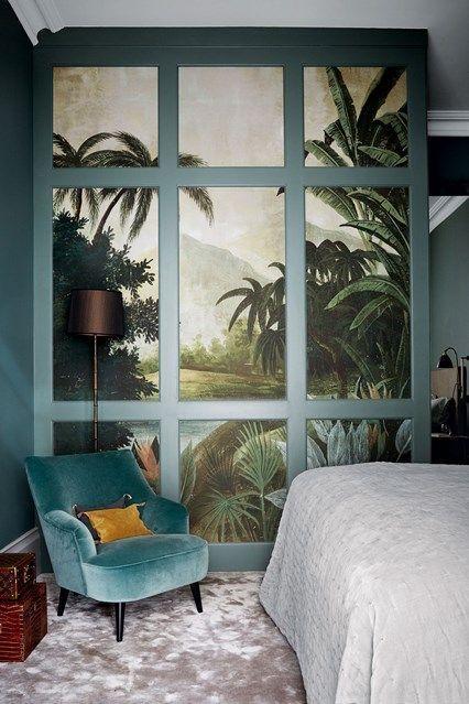 Kleines Schlafzimmer Mit Tapeziertem Begehbarem Kleiderschrank In Kleinen Raum Design Ideen In 2020 Home Interior Design Bedroom Interior Interior Design Bedroom