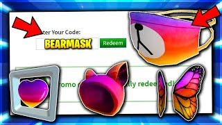 Bear Mask Promo Code All Roblox Promo Code Instagram Roblox