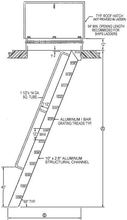 Hatch Access Ships Ladder Ship Ladder Ladder Stairways