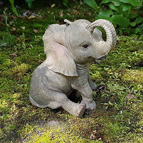 Deko Figur Elefant Afrika Dekoration Elefantenfigur Wildlife