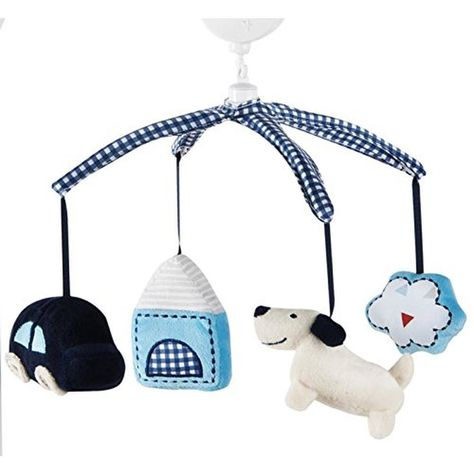 Woodland Plays Brahms/' Lullaby Baby Nursery Mobiles Trend Lab Musical Mobile