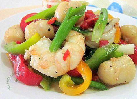Chilli, Salt and Pepper Seafood