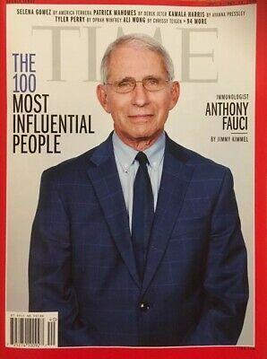 Time Magazine Mag Immunologist Dr Anthony Fauci By Jimmy Kimmel October 2020 Ebay Time Magazine Anthony Jimmy Kimmel