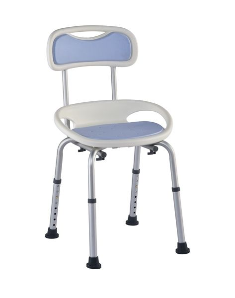 Juvo Comfort Bathtub Chair Padded Seat And Back Rest For Added Comfort Bath Safety Shower Chair Chair Integrated Handles