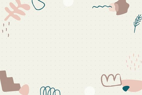 Minimal doodle frame background social story highlight vector | free image by rawpixel.com / marinemynt Background For Powerpoint Presentation, Wallpaper Powerpoint, Powerpoint Background Templates, Slide Background, Powerpoint Design Templates, Frame Background, Pastel Background, Cute Desktop Wallpaper, Aesthetic Desktop Wallpaper