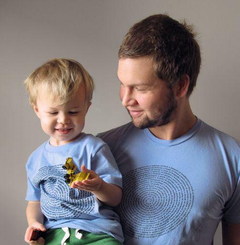 Father Son Matching Animal T Shirt Set