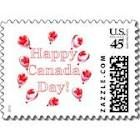 canada day postage stamps