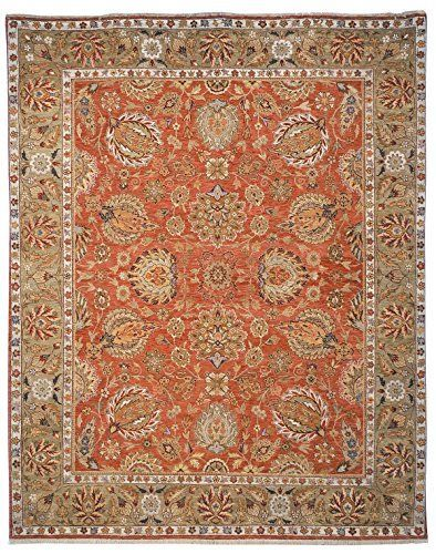 Safavieh Old World Collection Ow117a Hand Knotted Traditional Oriental Copper An Safavieh Old World Collection Ow117a Hand Kn Rugs Area Rugs Wool Area Rugs