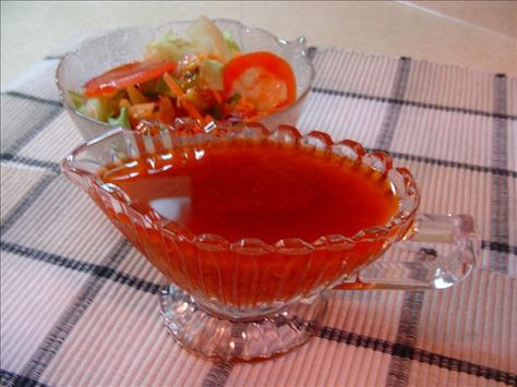 Russian Salad Dressing from Food.com: Couldn't find it premade, so I may just have to make my own. Healthier that way too, I'm sure. I have searched the internet far and near and finally I found a Russian Dressing recipe that ACTUALLY WAS Russian dressing! Good Stuff!